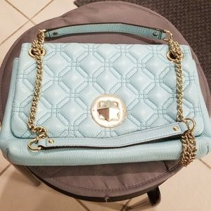 💕Kate Spade💕 Baby Blue Quilted Leather Handbag